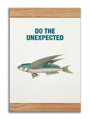 """""""Do the unexpected"""" #messageearth #sustainable #poster #sustainability #eco #design #ecodesign #vintage"""