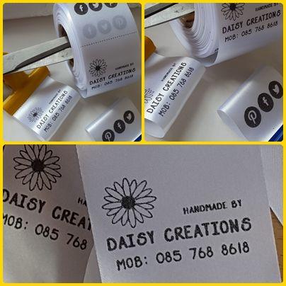 how to make ribbon tags