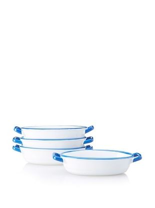 Mason Cash Set of 4 Enamour Gratin Dishes, 8