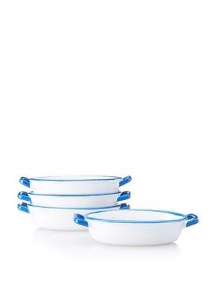 Mason Cash Set of 4 Enamour Gratin Dishes, 8