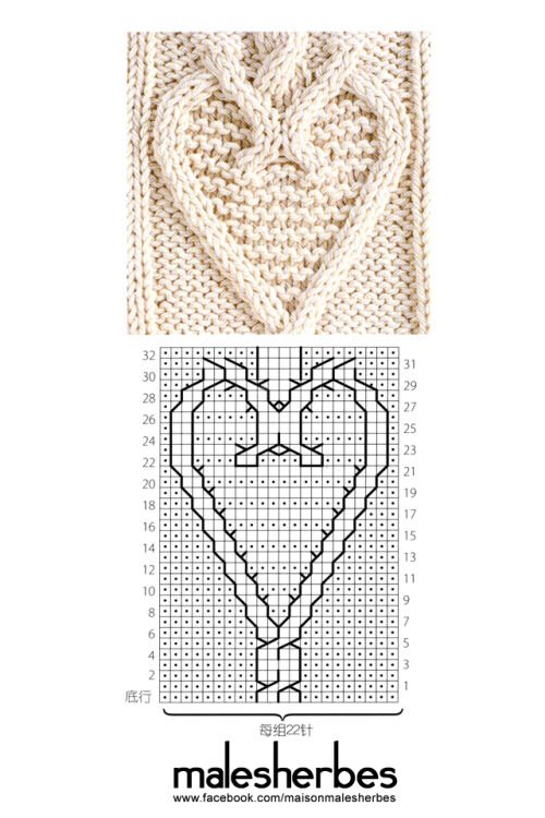 [ Pattern ]Valentine SpecialSearching for a more classic gift for the big day? You can't go wrong with any of these cute patterns featuring heart shapes and accents. Nothing says I love you, like a hand~knit valentine heart. Enjoy ~~ Please follow us on our FACKBOOK page, if you interested and also to know more about us and crochet, knitting, arts, fashion, movies and more… https://www.facebook.com/maisonmalesherbes/