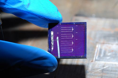 Photovoltaic cells output stats. http://how-to-make-a-solar-panel.us/solar-cell-efficiency.html IBM CZTS Solar Cell Device