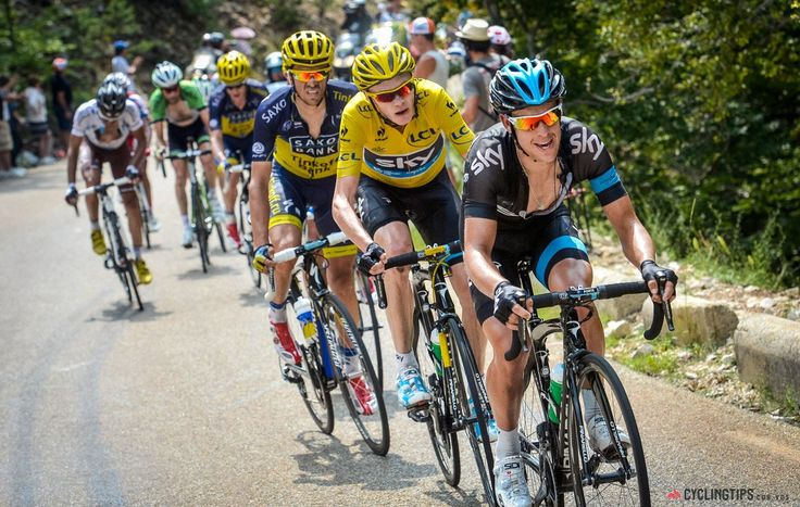 Just like he did on stage 8, Richie Porte ramped up the pace for his teammate Froome, shelling several riders from the lead group.