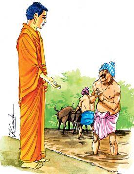 Buddha dan Petani