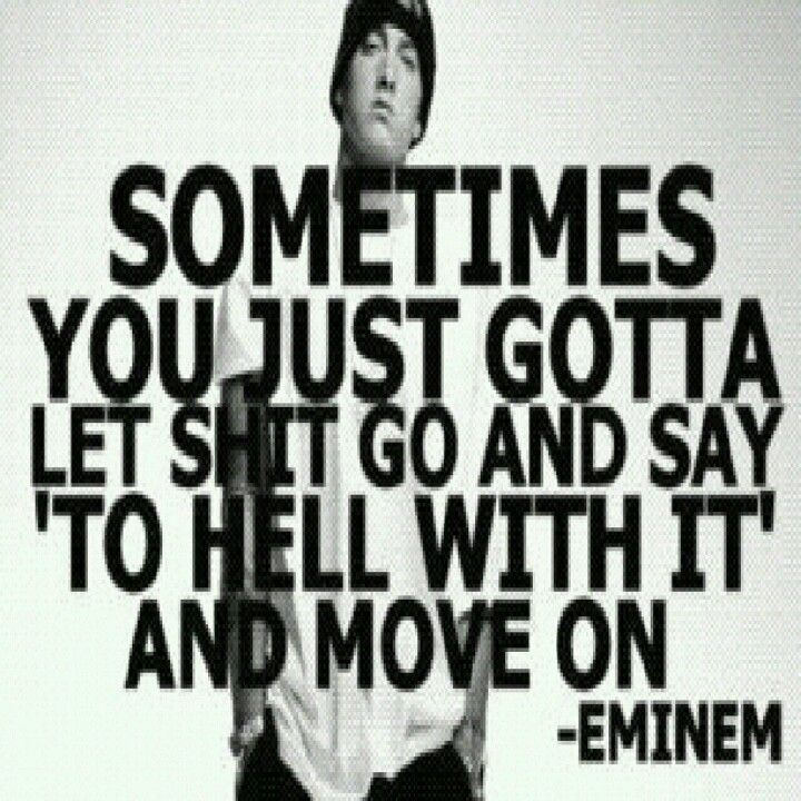Eminem my fucking idol.