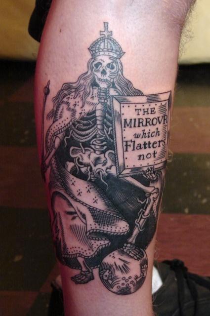 Melissa Baker | Fat Ram's Pumpkin Tattoo - Boston's Best Tattoo Shop