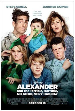 Alexander and the Terrible, Horrible, No Good, Very Bad Day Movie Review #VeryBadDay