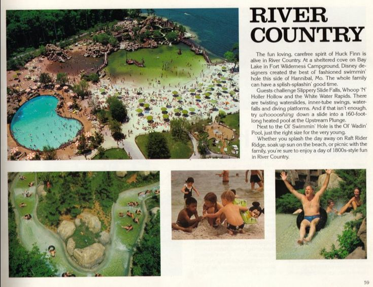 River Country At Disney World My First Water Park Sad That Its - Walt disney world river country map
