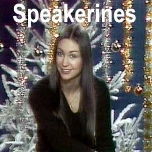 Speakerines qui annonçaient le programme à la télé