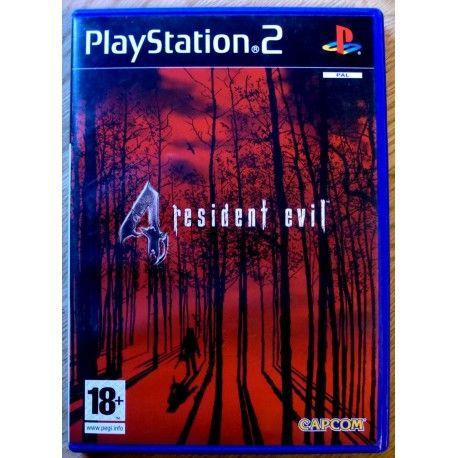Resident Evil 4 (Capcom) Playstation 2