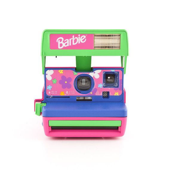 Polaroid Barbie Cam with original box and by ShutterLightOC