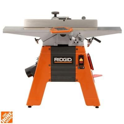 Ridgid 6 Amp 6 1 8 In Corded Jointer Planer Home Ps