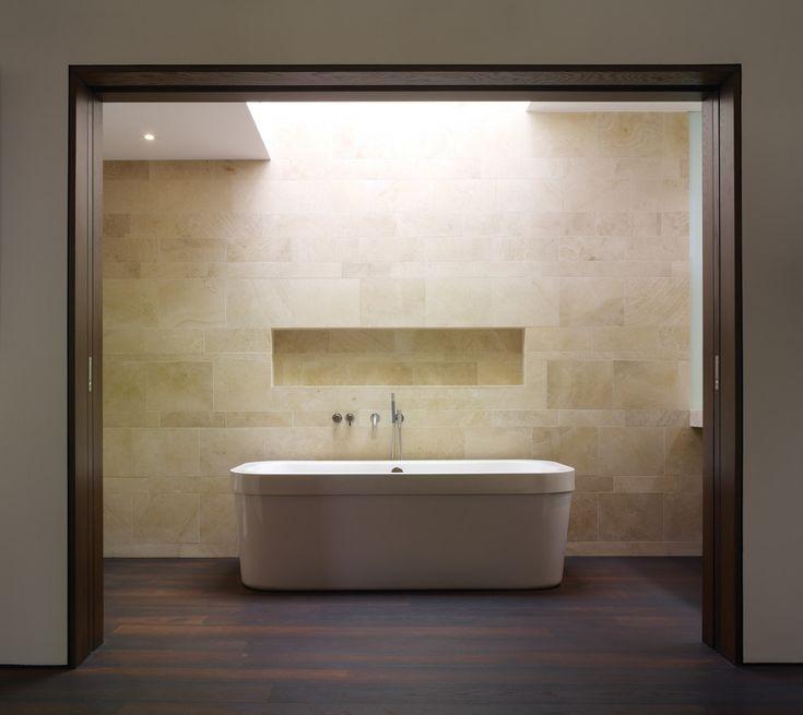 stone-wall-tile-Bathroom-Modern-with-bathroom-beige-stone-wall.jpg (990×882)