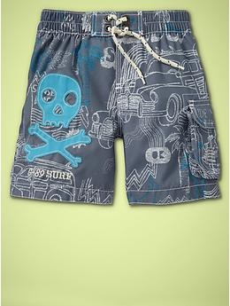 Surf print trunks  mercury grey  #621229  18-24mon 2-3-4years  24.95: Prints Trunks, Skull Clothing For Boys, Baby Beds, Swim Trunks, Baby Style, Swim Shorts, Baby Clothing, Old Cars, Boys Clothing