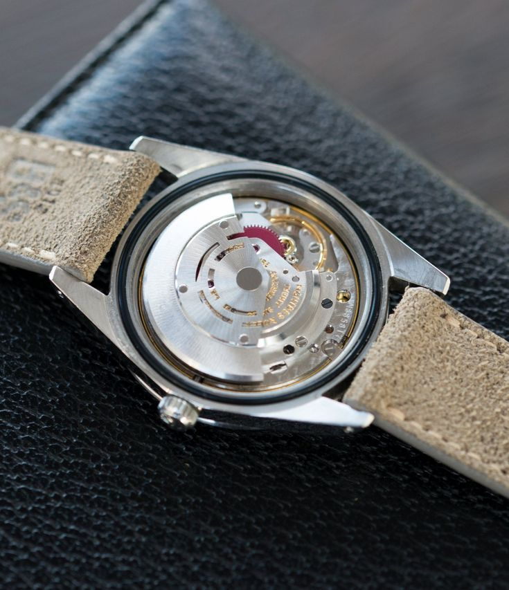 Cal. 1580 vintage Rolex Milgauss 1019 steel antimagnetic tool watch at A Collected Man London