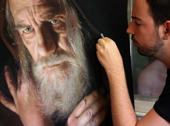 Рубен Беллонсо Адорна и его фото реалистичные портреты. | World of Art