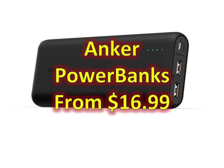 Anker PowerCore Power Banks from $16.99!