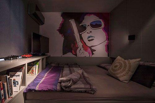Coole slaapkamer
