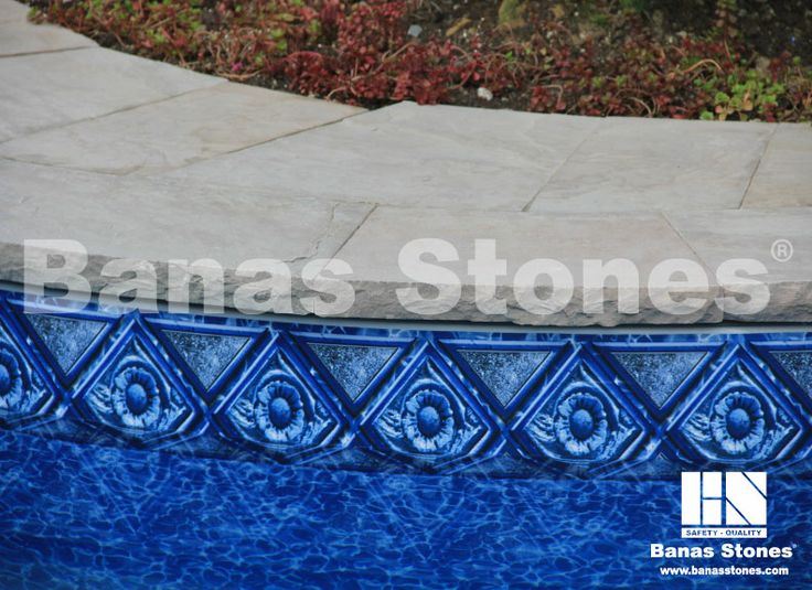 Banas Flint Pool Coping Available at our store at 3500 Mavis Rd, Mississauga, ON L5C 1T8
