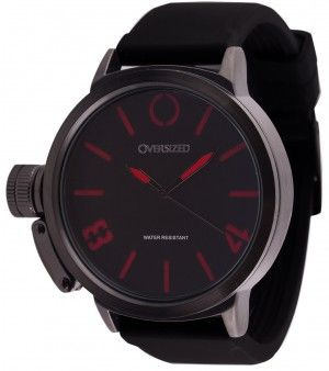 Relógio Esportivo Masculino Oversized Hunter 50mm Dark-Red
