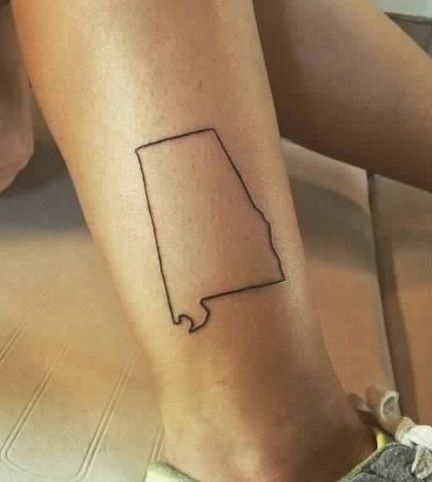 Alabama Tattoo #alabamatattoo #rolltide