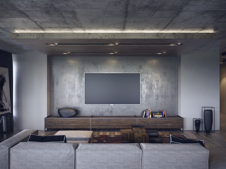 These dark and moody living rooms embody a style that magazines might even describe as a masculine decor aesthetic, but just about anyone can appreciate any one