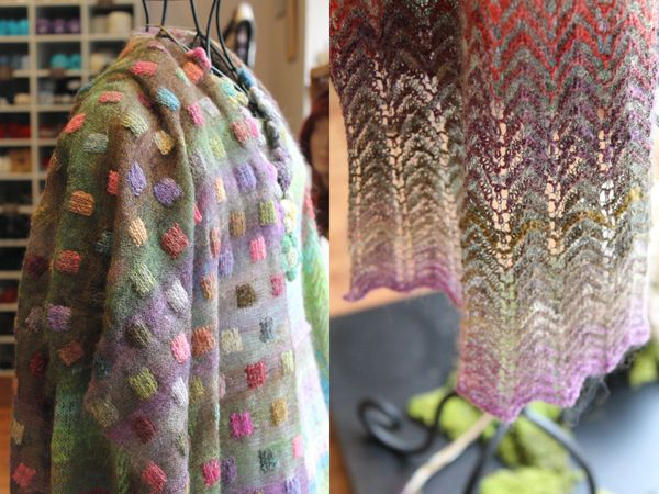 Elle Tricote knitting shop in Strasbourg