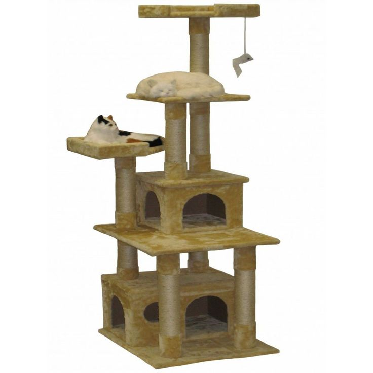 Go cat Club Beige 67-inch Cat Tree ** Quickly view this special  product, click the image (This is an amazon affiliate link. I may earn commission from it)