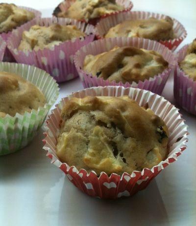 Sinner+Sunday:+skinny+muffins+met+appel,+rozijnen+en+kaneel