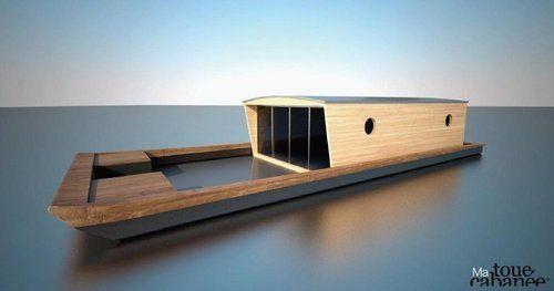La toue cabanée, un bateau écologique et insolite