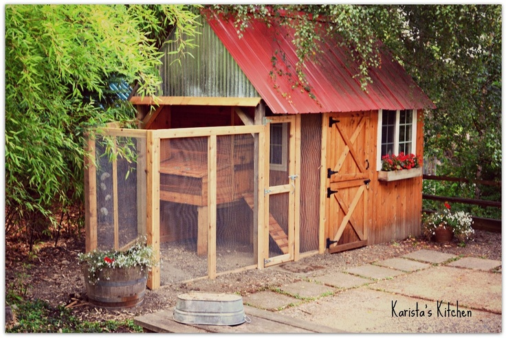 1000 images about chicken coop ideas on pinterest cute for Pretty garden sheds