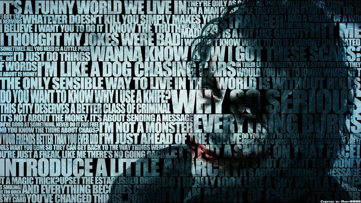 The Dark Knight Quotes: The Joker's Most Famous Quotes - The Dark Knight