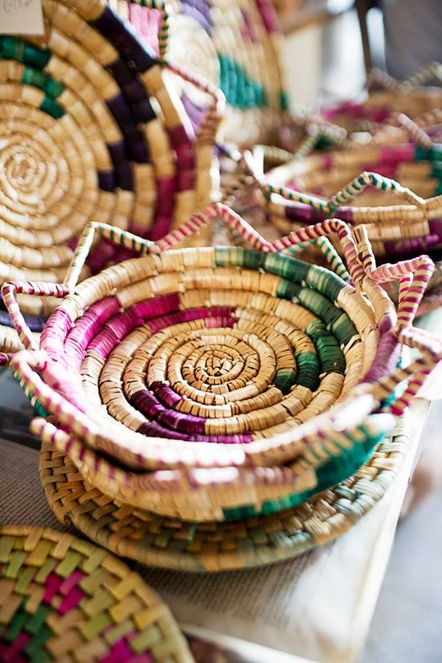 Cyprus Tradition Handmade Baskets (Paneri)