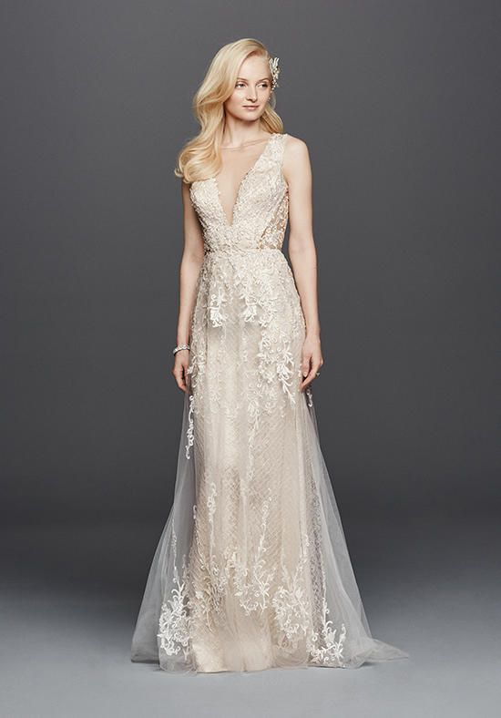 David's Bridal Galina Signature Style SWG722 Wedding Dress photo