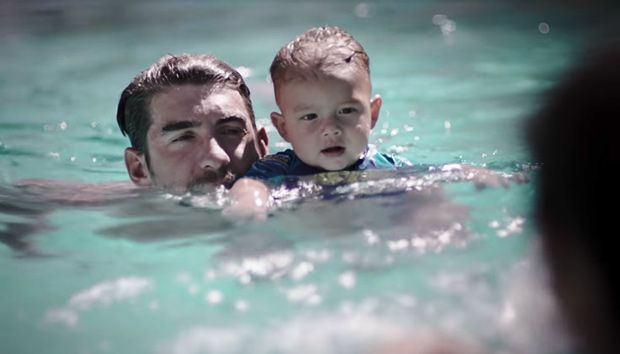 Michael Phelps' Adorable Son Boomer, 1, Races 'Shark' Better Than His Dad — Cute Video https://tmbw.news/michael-phelps-adorable-son-boomer-1-races-shark-better-than-his-dad-cute-video  Michael Phelps may be a swim legend, but his baby son Boomer is already following in his footsteps! Emulating his dad's latest stunt, the tot challenged a 'shark' & took it on way better than his dad. Watch the cuteness here!In honor of Shark Week, Michael Phelps, 32, raced against a great white shark on July…