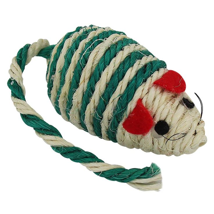 O sisal agarra nas patas do seu gato deixando a caçada ainda mais alucinante. Os brinquedos fazem com que seu gato não fique tão entediado e estimula sua atividade física.