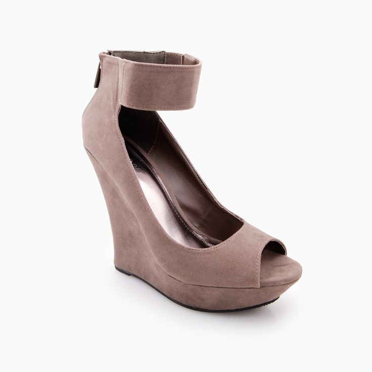 Modern Ankle Strap Wedges Very cute