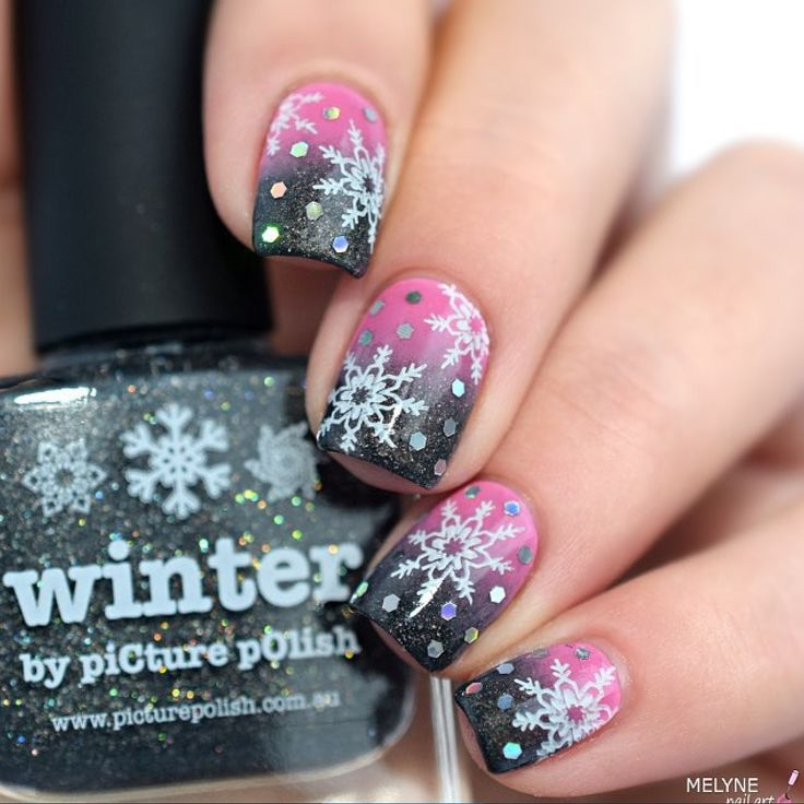 1049 Best Images About Winter Theme Nail Designs On