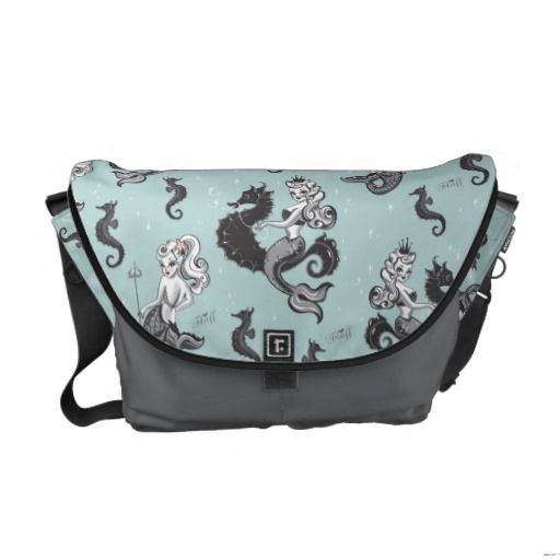 Pearla Mermaid Messenger Bag by Fluff