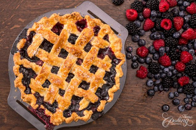Berry Pie :: Home Cooking Adventure
