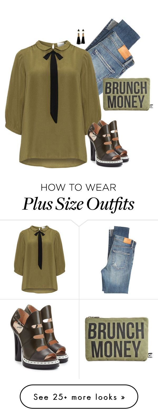 """Fendi"" by tina-pieterse on Polyvore featuring Citizens of Humanity, JunaRose, Fendi and Circus by Sam Edelman"