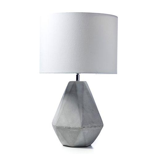 Tobin Grey Table Lamp