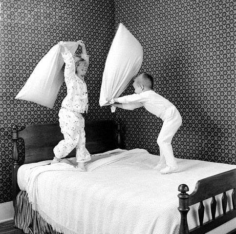 Image result for pillow fight children