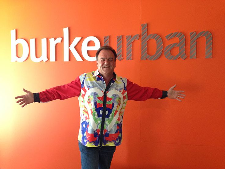burkeurban getting into the Loud Shirt Day Spirit.  http://www.loudshirtday.com.au