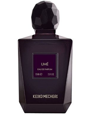 Ume Eau de Parfum by Keiko Mecheri, at Luckyscent. Hard-to-find fragrances, niche brand perfumes,  and other under-the-radar luxuries.