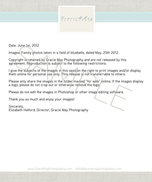 My image release {protecting yourself and your photos} » Elizabeth Halford Photography {the blog}