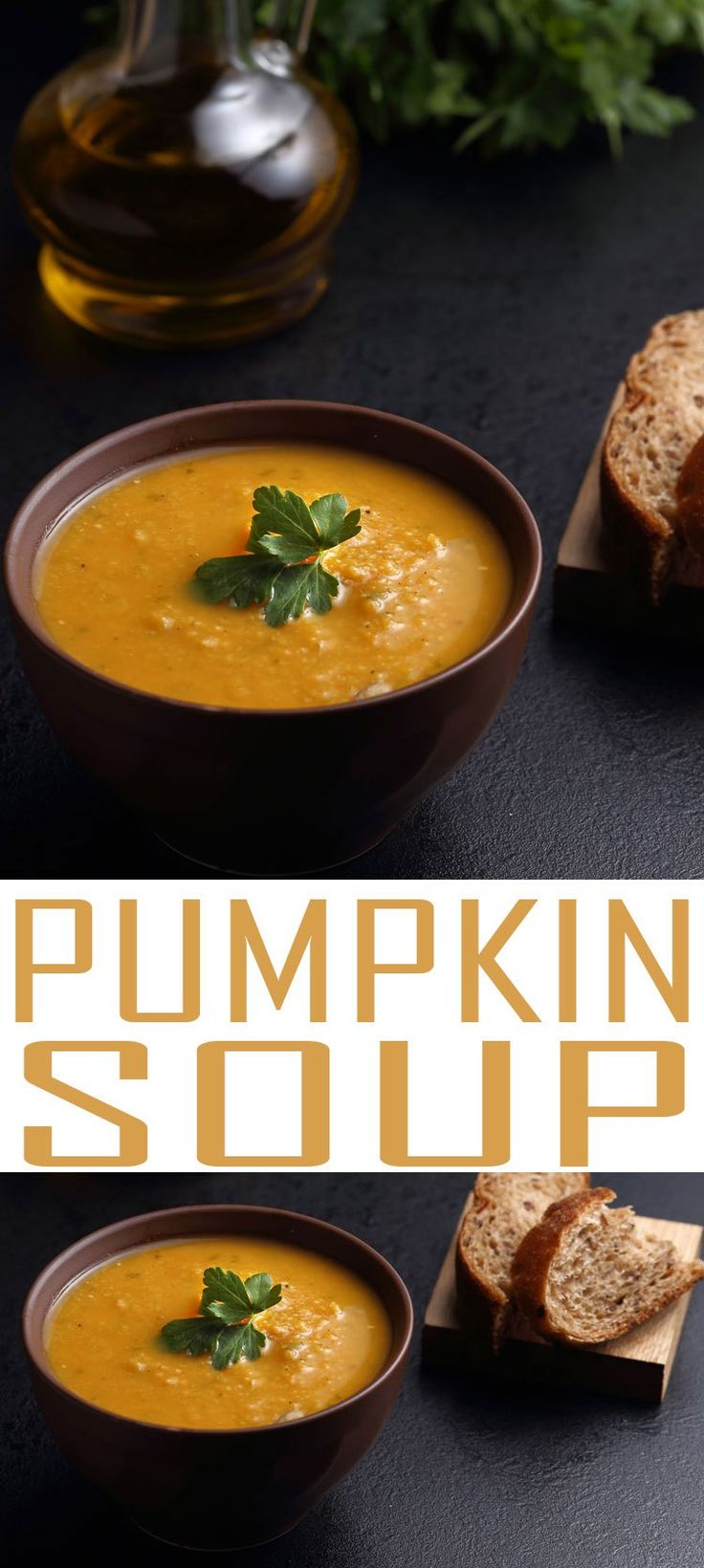 Pumpkin Soup recipe is a perfect way to use up pureed pumpkin from your garden. This hearty winter soup is soothing and healthy.