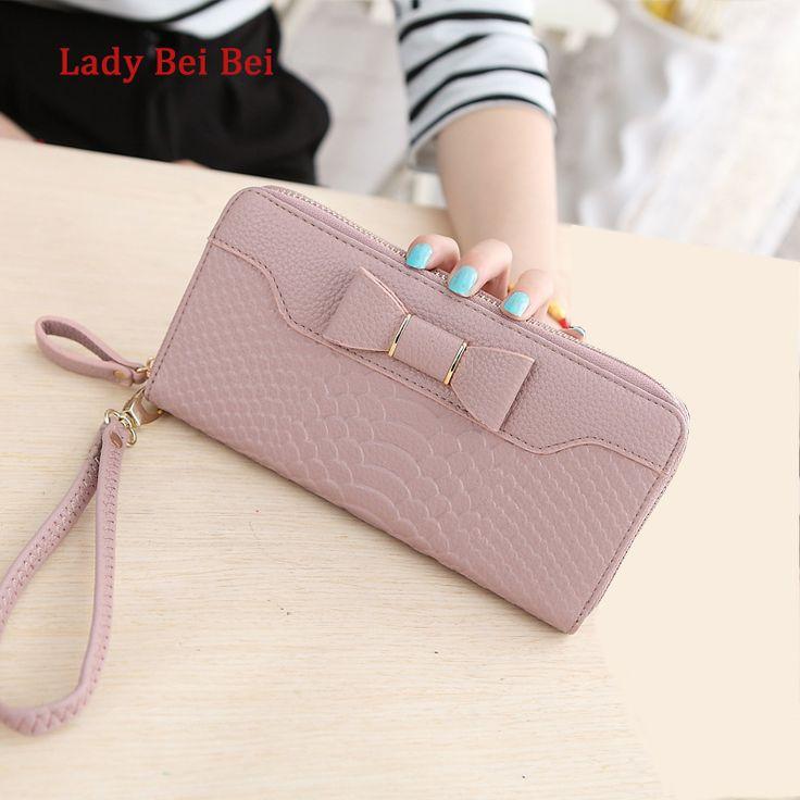 Heißer Verkauf Frauen Lady Lange Geldbörse Weiblichen Candy Farbe Bogen Pu-leder Carteira Feminina für Münze Karte Handtasche