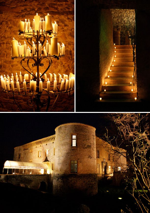 winter wedding in a medieval chateau in France, by Iconclash Photography