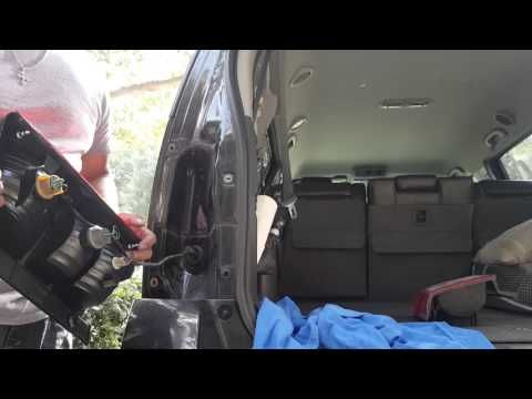 2011 Nissan Pathfinder - How to replace tail light - YouTube